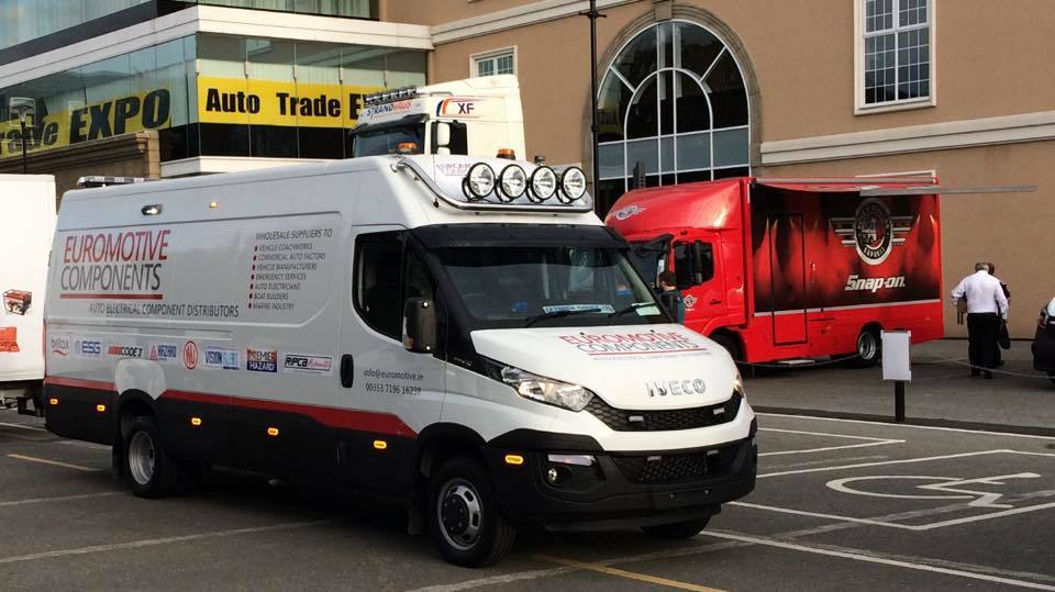 Euromotive Components Iveco Demo Van